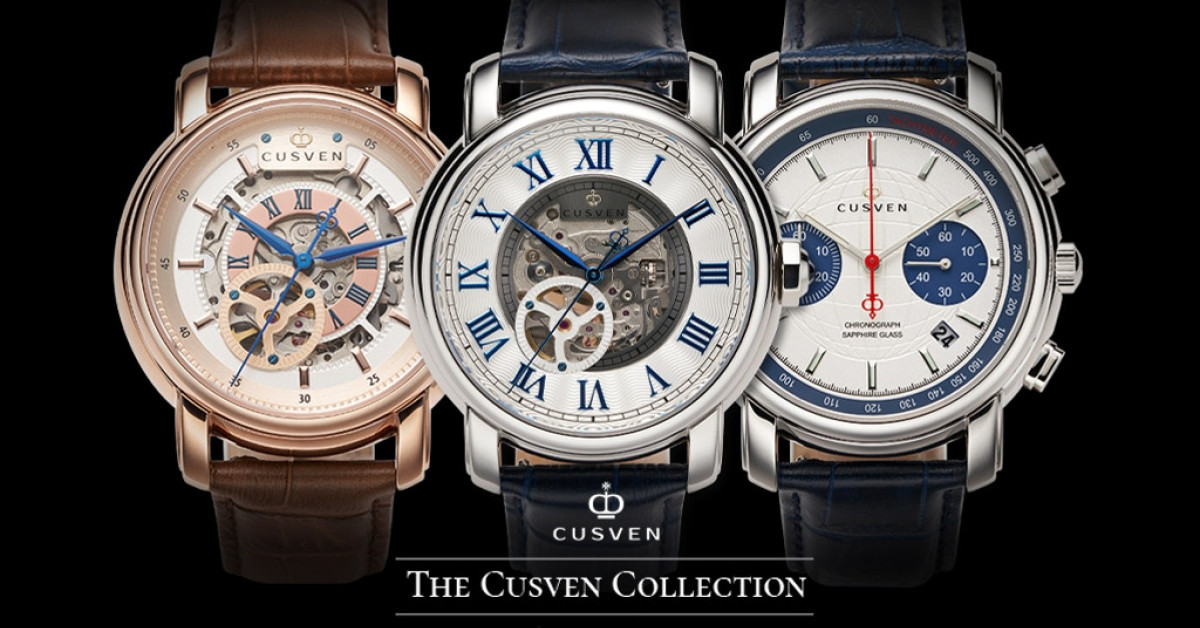 CUSVEN to Launch a Kickstarter Campaign for 3 New Watch Collections and Looks to Challenge the Price Point of Luxury Brands