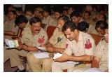 Training New Delhi police on The Way to Happiness