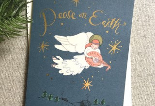 Peace on Earth Angel