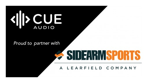 CUE Audio, SIDEARM Sports Establish Relationship to Create Opportunities to Enhance Collegiate Fan Engagement