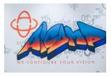 aicomp graffiti logo