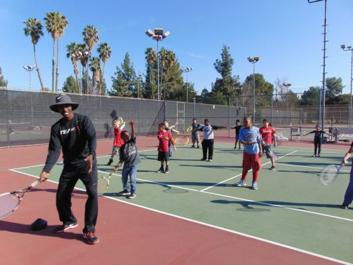 Team G Tennis Hosts Tennis and Athletic Training Day for the Children of URM's Hope Gardens Family Center