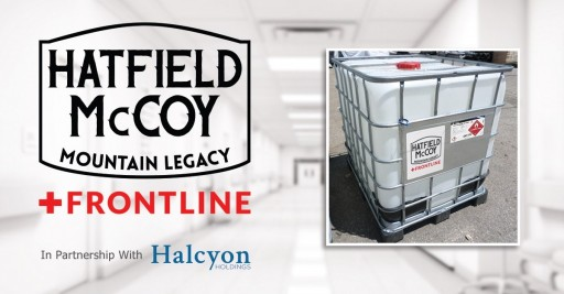 Halcyon Holdings Temporarily Shifts Focus to Include Bulk Production of Hand and Surface Sanitizer to Help Address Shortages