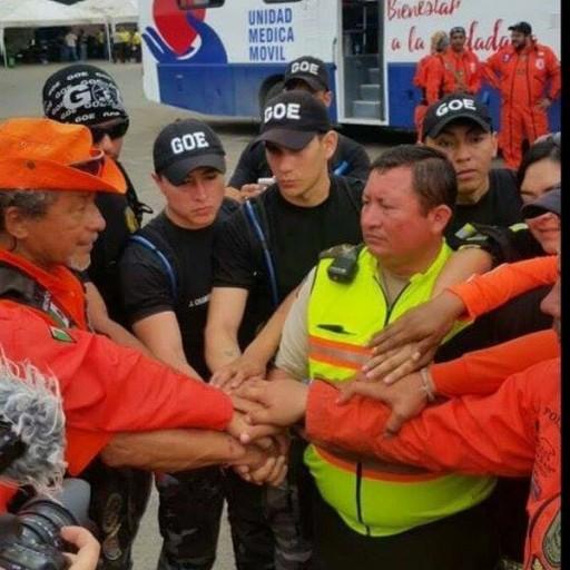 Los Topos and Scientology Volunteer Ministers Partner in Ecuador