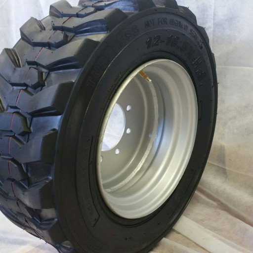 Road Warrior Tires Proudly Announces New Production of 16 Ply Skid Steer Tires for Bobcat and Other Equipment