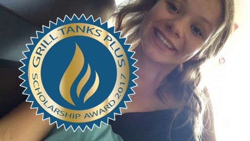 Announcing Grill Tanks Plus Scholarship Award Winner 2017