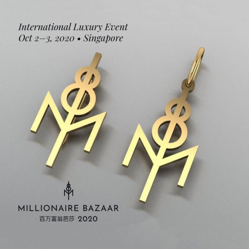 Millionaire Bazaar 2020 Signature Clips and Pendants to Become Unique VIP Invitations