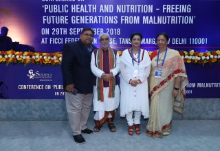Union Minister of State for Health & Family Welfare, Mr. Ashwini Choubey gave the inaugural speech at the conference.