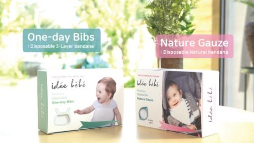 Idee Bebe Bibs & Hankys With Super Absorption Technology Unveiled on Kickstarter