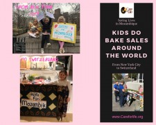 From NYC to Switzerland, kids do bake sales for families in Mozambique and Care for Life