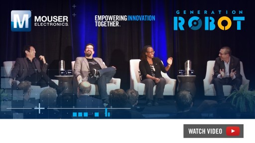 New Video From Mouser's Generation Robot Series Showcases Exclusive Grant Imahara Panel Discussion From 2018 ECIA Executive Conference