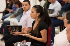 Those attending the human rights education seminar at the National Church of Scientology of Spain attending discussed their rights and gained a much better understanding of what these rights are.
