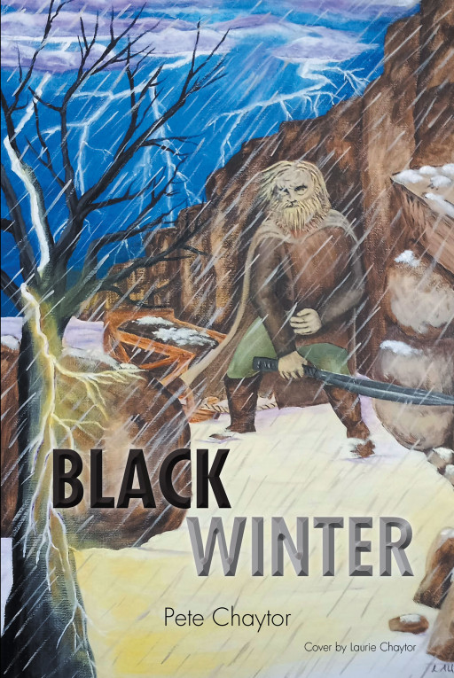 Pete Chaytor's new book, 'Black Winter', is the enthralling tale of a grotesque brute of a man who embraces an exiled young girl facing the dangers of the wild