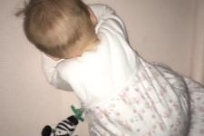 Baby breathing through air permeable crib mattress