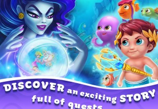Discover an exciting story full of quests