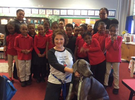 AWC Detroit Celebrates National Reading Month With Westside Christian Academy