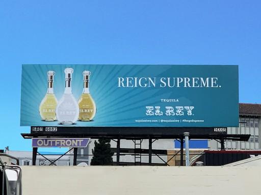 Oakland-Based Tequila Urges Consumers to 'Reign Supreme' in New Bay Area Billboard Campaign