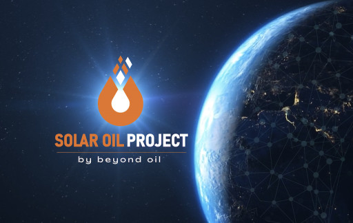 Beyond Oil™ Kicks Off World's Largest Tokenized Green Commodities Production With Solar Oil Project