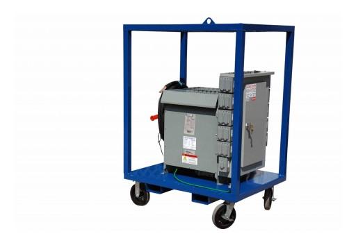 Larson Electronics Releases Power Distribution Substation, 480V 3PH to 208Y/120V 1PH, 45 kVA