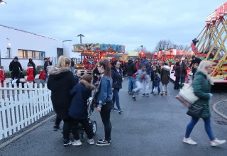 The funfair rides were a popular feature of Winter Wonderland in Firhouse