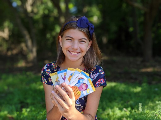 Pre-Teen's 'SUNCards' Help Kids Manage Their Anxiety