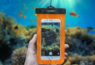 The Lazy Monk Waterproof Phone Case