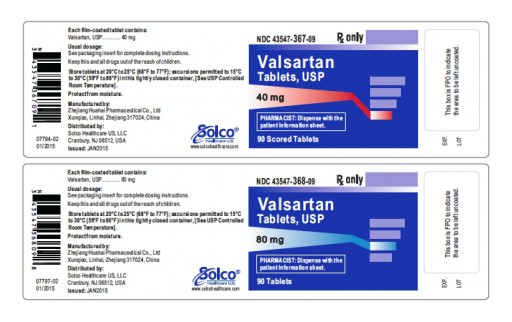 Prinston Pharmaceutical Inc Issues Voluntary Nationwide Recall of Valsartan and Valsartan HCTZ Tablets Due to Detection of a Trace Amount of Unexpected Impurity, N-Nitrosodimethylamine (NDMA) in the Products