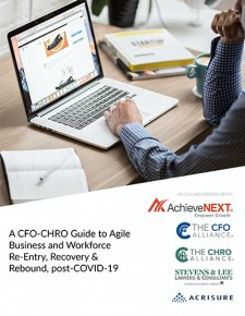A CFO-CHRO Guide to Agile Business and Workforce Re-Entry, Recovery & Rebound, post-COVID-19
