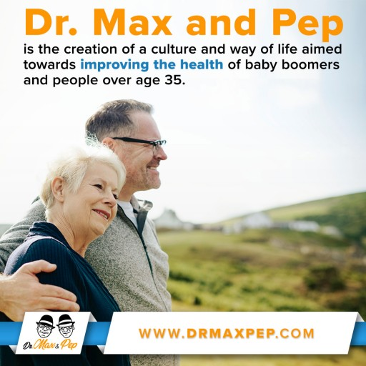 Dr. Max and Pep Launches New Website Highlighting the Only FDA Registered HGH Gel