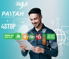 Paytah Integrates 4Stop's Anti-Fraud and Transactional Monitoring Technology