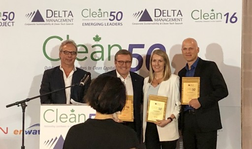Freightera CEO Eric Beckwitt Receives Sustainability Award at Clean50 Summit in Toronto