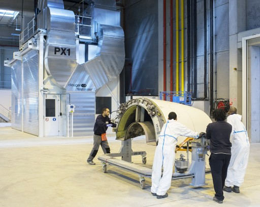 DriSteem High-Pressure System Controls Humidity and Heat  in Commercial Aircraft Paint Booths