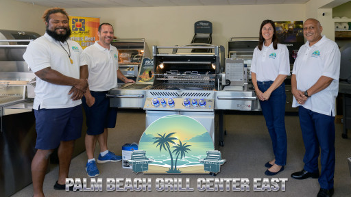 Palm Beach Grill Center West by Grill Tanks Plus - Grand Opening