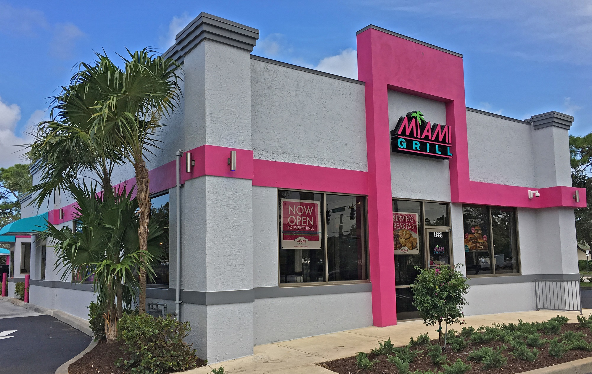 miami grill® brings its south beach vibe & everything goes