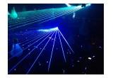 Lasers and LED Wristbands Light Up Hakkasan Las Vegas for Tiesto