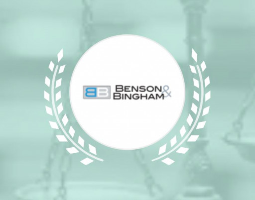 Benson & Bingham Accident Injury Lawyers, LLC Receives 3 Expertise.com Awards