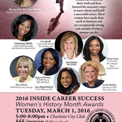Women's History Month Career Mastered Award Honorees Announced - North Carolina