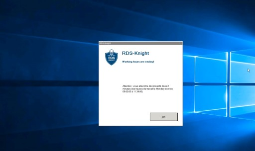 RDS-Knight 4.2 Limits Remote Access in Time