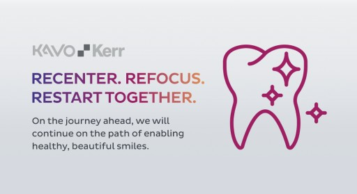 KaVo Kerr Launches 'Restart Together' Program to Support the Dental Community as Practices Reopen