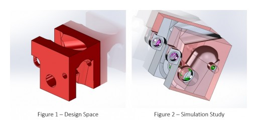 Intelligent Part Design With Topology Optimisation Software
