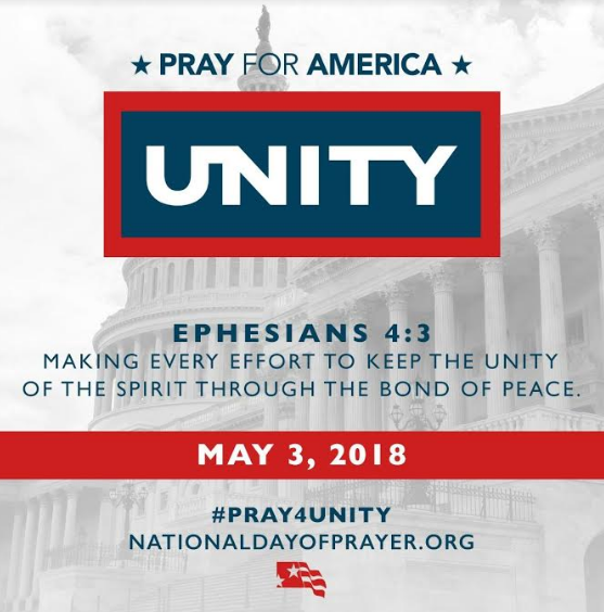 67th Annual Observance of National Day of Prayer on Thursday, May 3