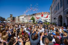 On Saturday, May 27,  thousands of overjoyed Scientologists gather in central Copenhagen where the city's most famous squares converge, to celebrate the triumphant grand opening of the new Church of Scientology Denmark.
