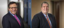 Railroad Attorneys Arvin J. Pearlman and Benjamin J. Wilensky