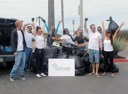 Santa Monica Cannabis Technology Platform BudTrader Organizes End of Summer Beach Cleanup This Saturday