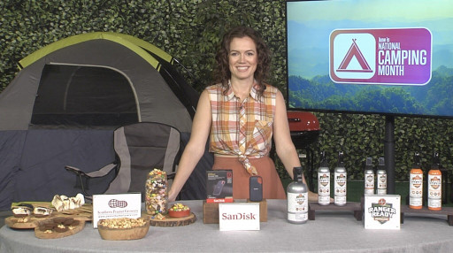 Meggan Kaiser Share Ways to Get Prepared for National Camping Month on TipsOnTV
