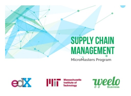 Weelo Business and edX Announce Joint Collaboration With Massachusetts Institute of Technology (MIT) MicroMasters Program in Supply Chain Management