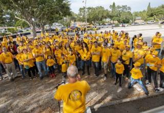 Dozens of Volunteer Ministers