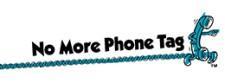 No More Phone Tag