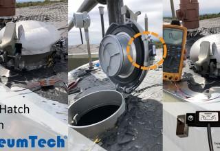 oleumtech thief hatch switch installation photo