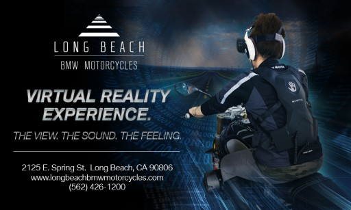 Long Beach BMW Motorcycles Becomes First BMW Dealer to Offer Virtual Reality Experience